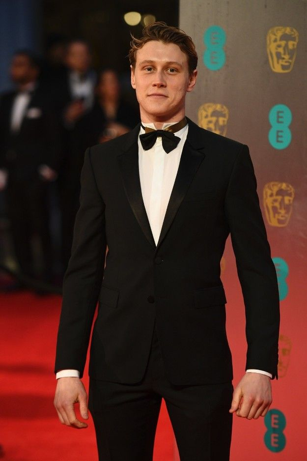 George Mackay | All The Looks At The 2017 BAFTA Awards