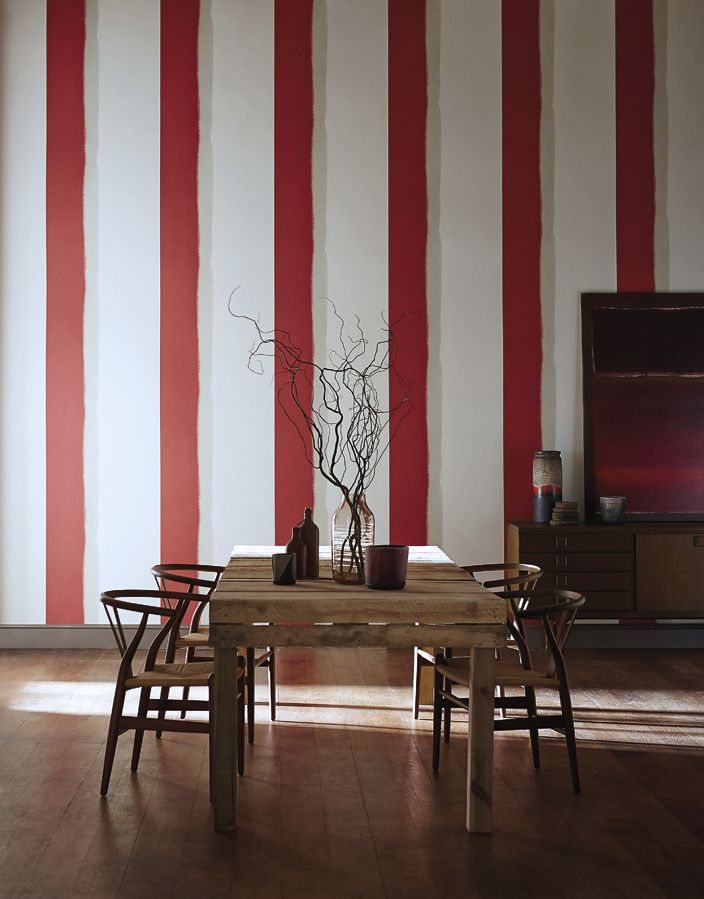Tunturi from Harlequin is a statement sweeping brushstroke stripe in eye-catching colour combinations