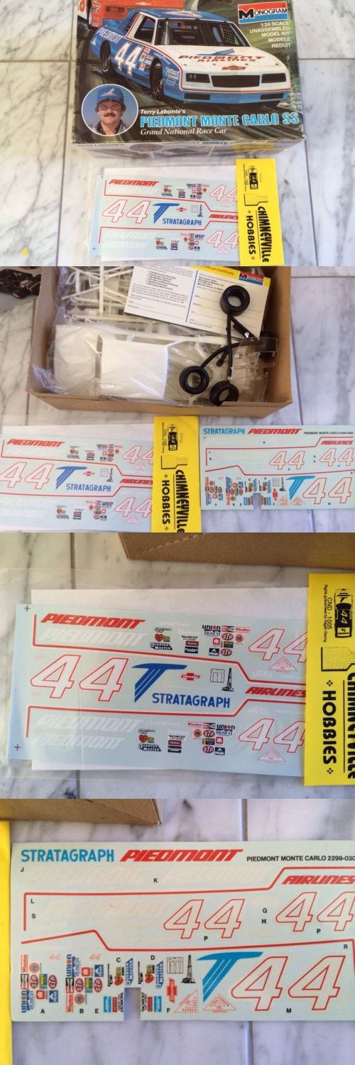 Kits 145964: Monogram 1 24 Piedmont Terry Labonte 1984 Nascar With Bonus Chineyville Decals -> BUY IT NOW ONLY: $35 on eBay!