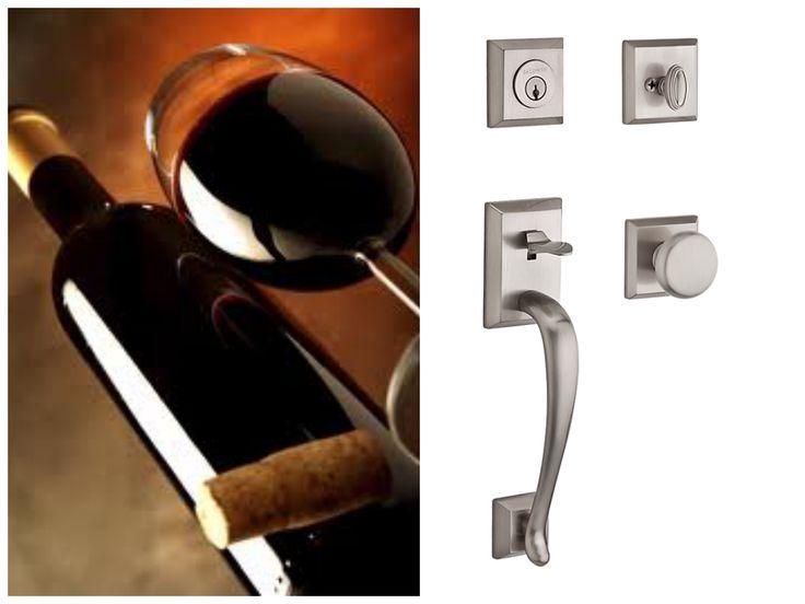 A #craft perfected through generations. Open your #door to #Baldwin's Reserve Napa handleset