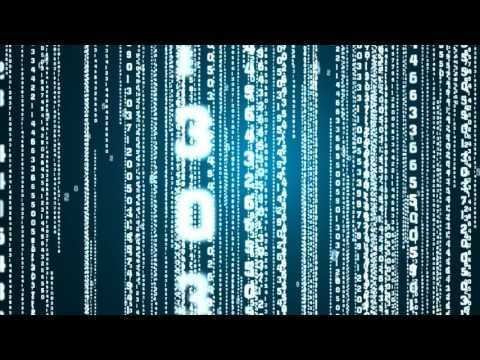 Matrix rain Uhd background video   Royalty free stock footages  No