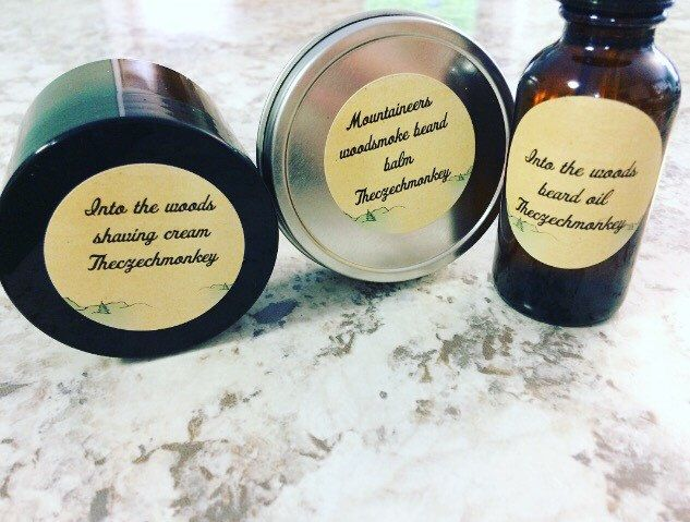 Beard grooming kits, build your own kits, for growing a epic man beard. Organic natural beard oil, shaving cream and balm. by Theczechmonkey on Etsy https://www.etsy.com/listing/509097901/beard-grooming-kits-build-your-own-kits