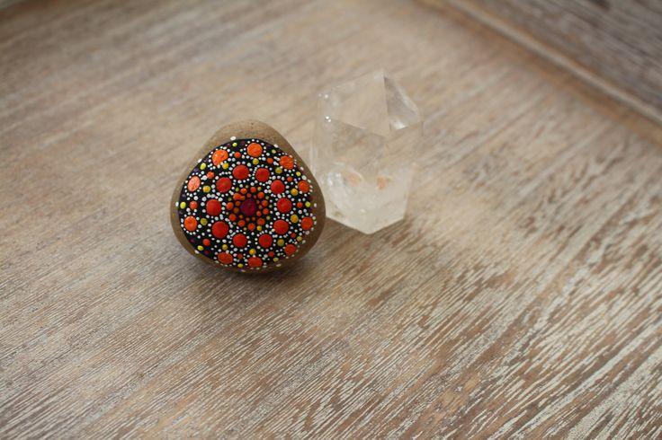 Piedra naranja de Mandala