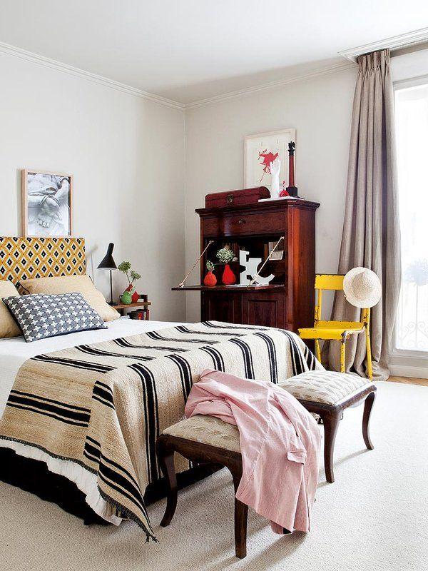 17 mejores ideas sobre cabecero de tela en pinterest - Cabeceros tapizados en tela ...