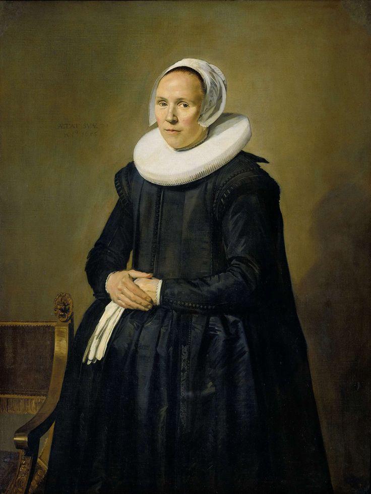 Portrait of Feyntje van Steenkiste, Frans Hals, 1635