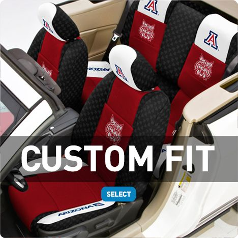 UofA seat covers... Troy would NEVER go for this...