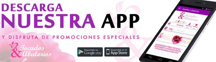 ¡Ya tenemos APP! Descarga nuestra App y disfruta de PROMOCIONES ESPECIALES. Instala la app en tu teléfono o tablet y recibirás CÓDIGOS DESCUENTOS para bonos y regalos exclusivos. También puedes descárgatela a través de nuestra página web >> https://tocadosyabalorios.com/content/12-descargar-app #materialesparatocados #doityourself #diy
