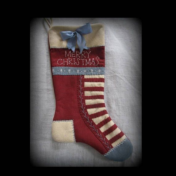 Olde Glory Stocking  Christmas Past Stocking Collection KIT ~ by Cathy Pendleton ~ The Cheswick Company