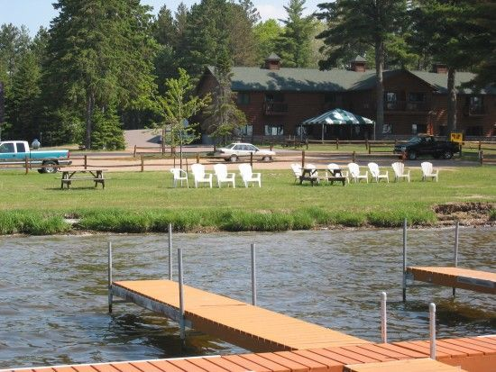 36 best lodging in st germain resorts images on for Best shore fishing in wisconsin
