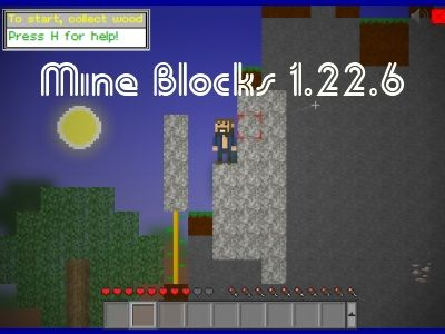 It is high time for your creativity and hard working to be shown in Mine Blocks 1.22.6 game. The game aims to test how long you can be alive in a planet, how many tasks you can do to transform the planet, and how much happiness you can seek for your own sake here.