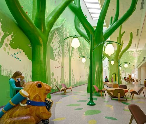 "Nationwide Children's Hospital, Columbus, Ohio. ""Ten Most Colorfully Inspiring Children's Hospitals"""