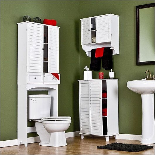 bathroom storage cabinets ( 4th picture over ) ...now that's doable... and maybe a chair to go along with it for getting dressed