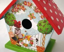 mary engelbreit birdhouse
