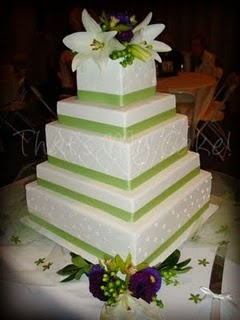 I like the cake itself; not so much the flowers