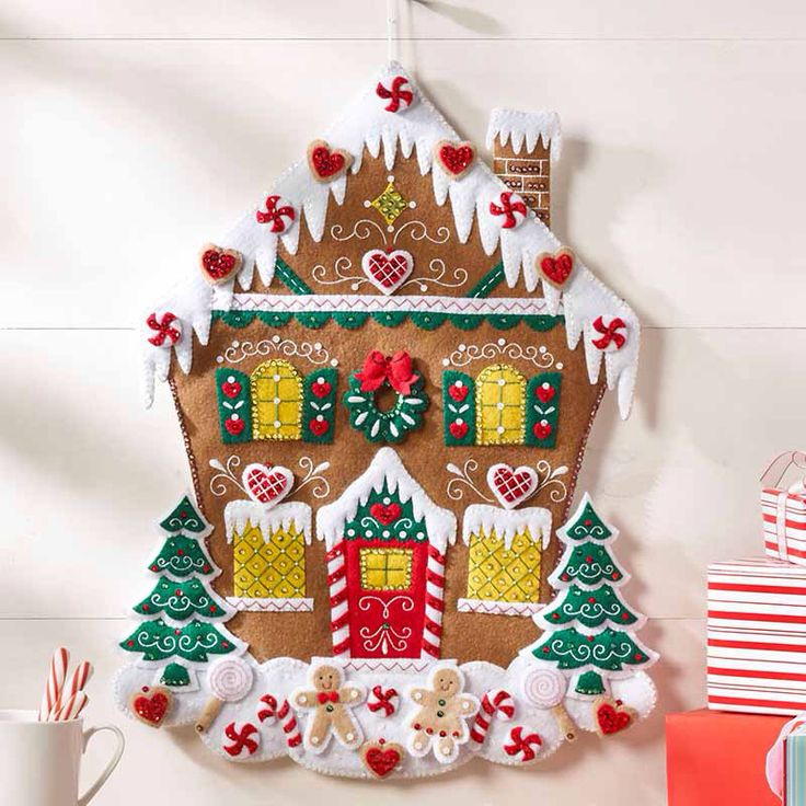 Nordic Gingerbread house kit