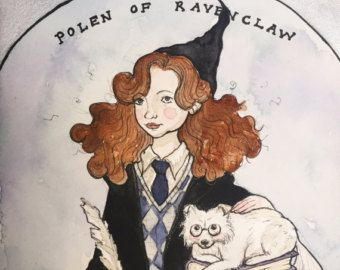 Portrait as Hogwarts Student / Harry Potter Character (LIMITED STOCK OF 5)