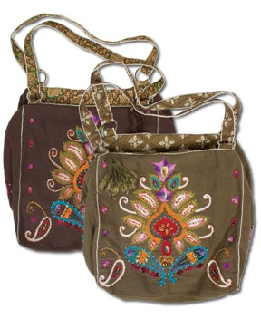 Instant Karma Bag - so awesome, so many great details. #soulflower $38Shoulder Bags, Karma Embroidered, Embroidery Design, Soulflower Bags, Embroidered Bags, Instant Karma, Bohemian Design, Karma Bags, Soul Flower