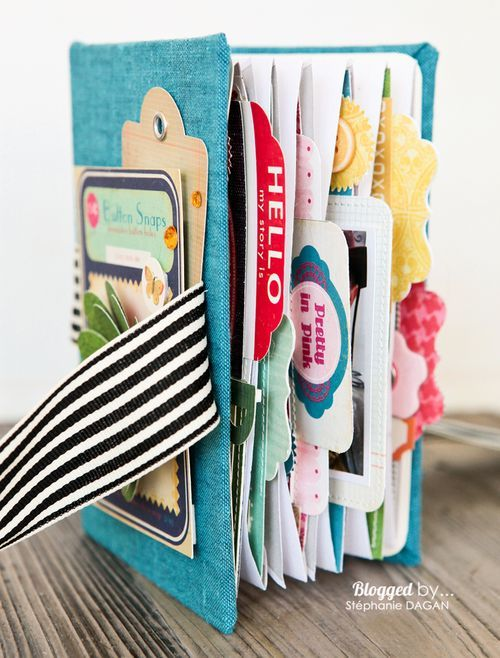 DIY A Random Envelope Mini Album