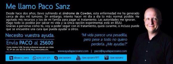 España: Detenido Paco Sanz por estafa al recaudar fondos para presunta enfermedad
