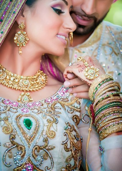 Clothes and Jewelry #wedding, punjabi, pakistani, indian