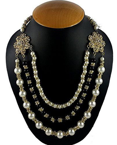 VVS Jewellers Black & White Pearls Indian Bollywood Gold ... https://www.amazon.com/dp/B06XW5WHKV/ref=cm_sw_r_pi_dp_x_Mh52ybNH3TX8T