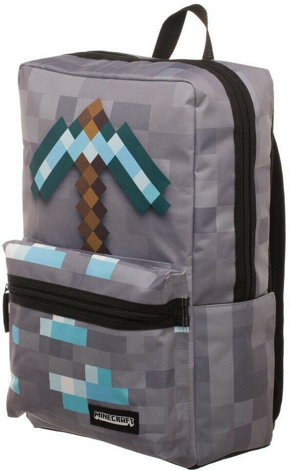 vendita calda online f53a9 cc40b Minecraft School Backpack #minecraft #playing #game | Scuola