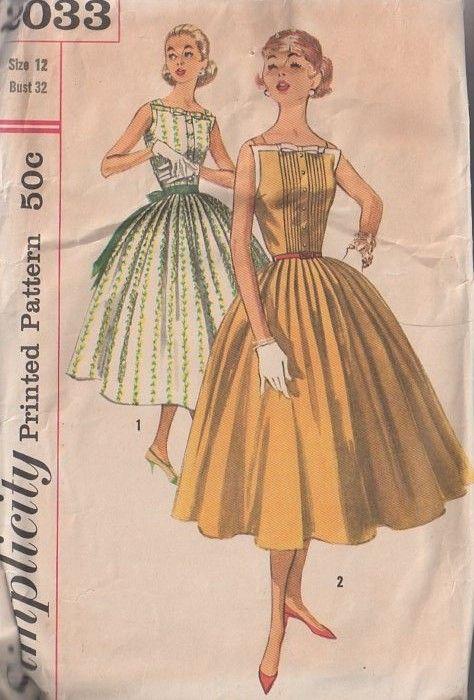 78 best Vintage Sewing Patterns images on Pinterest | Vintage ...
