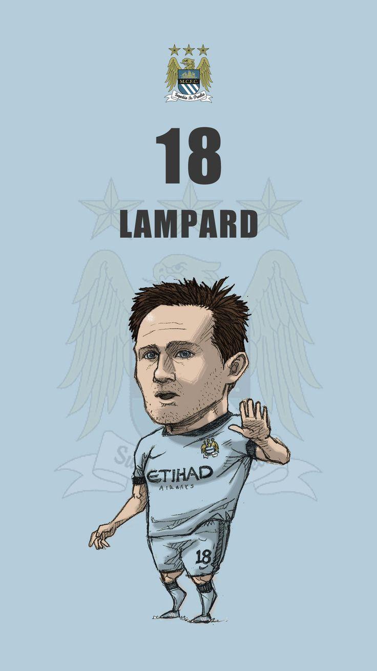 "Manchester fan art for mobile wallpaper ""Frank Lampard"""