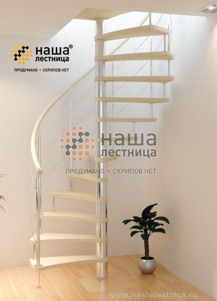 "Винтовая лестница ""Совершенство Plus"" фото"