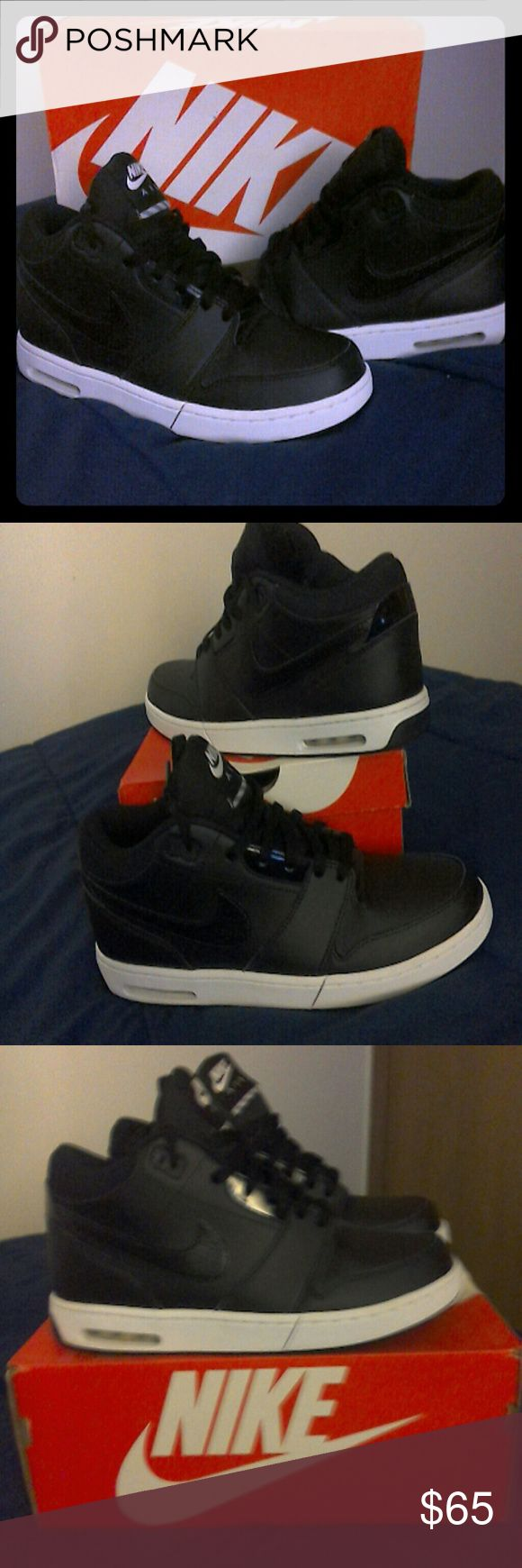 Nike Air Stepback Mid top men's basketball worn only 2 times Nike Shoes Athletic Shoes