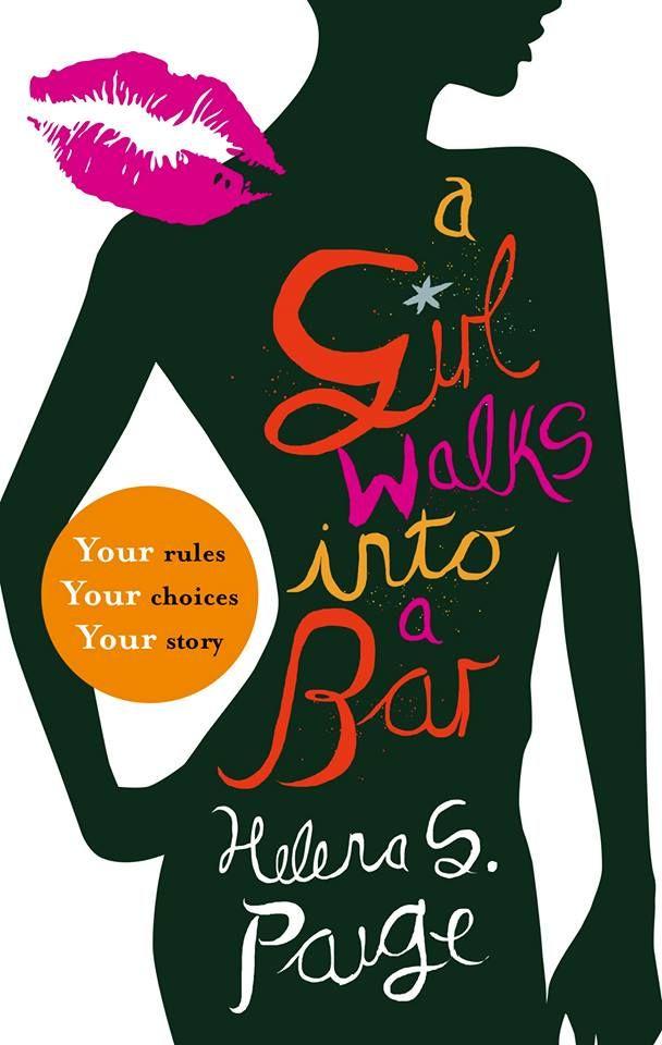 A Girl Walks into a Bar - choose-your-own-destiny erotic novel. UK cover.