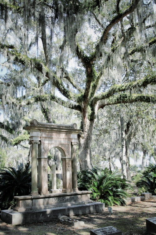 Only the best for the Trotters and Wells-  Bonaventure Cemetery. Savannah, GA