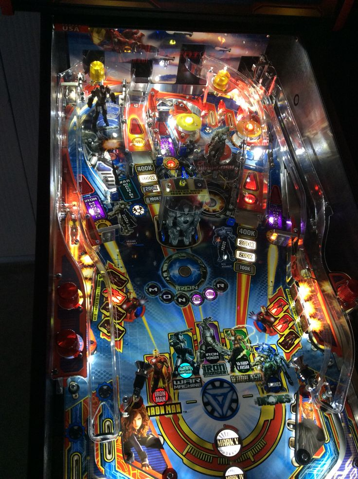 Iron man led pinball 2014