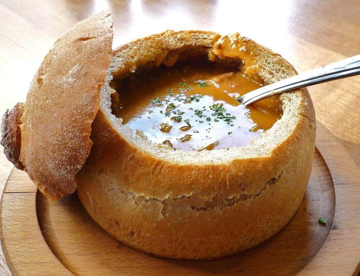 Хлебные горшочки для супа в хлебе