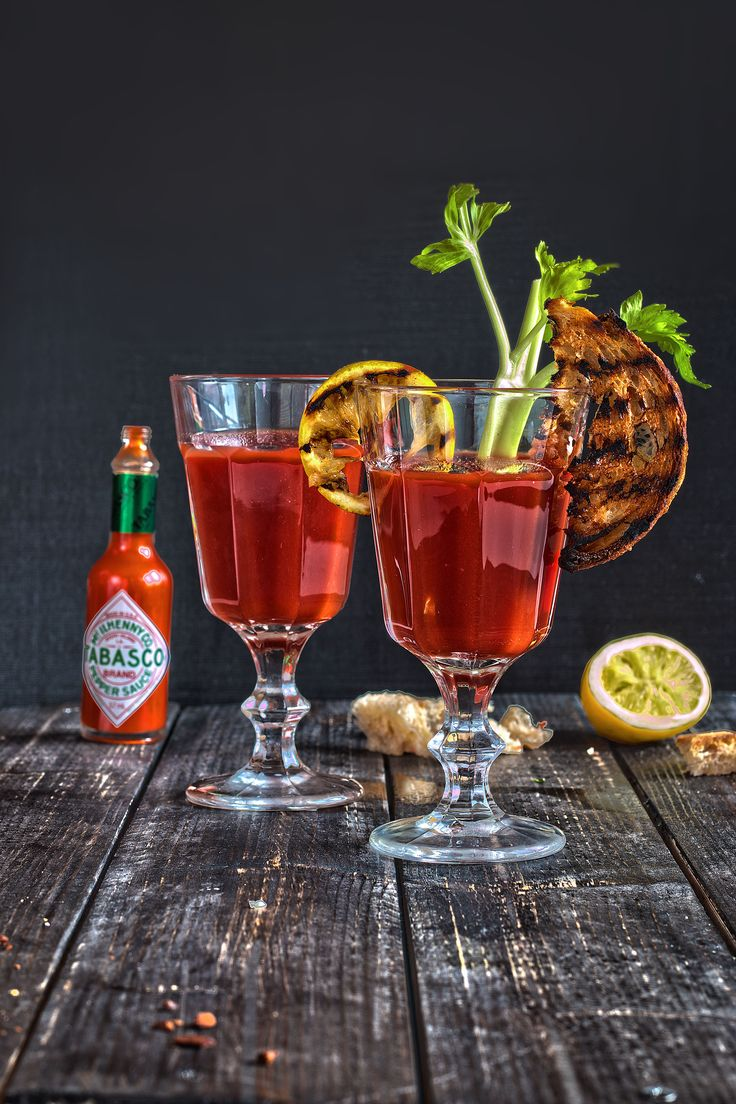 Healthy Virgin Grilled Bloody Mary