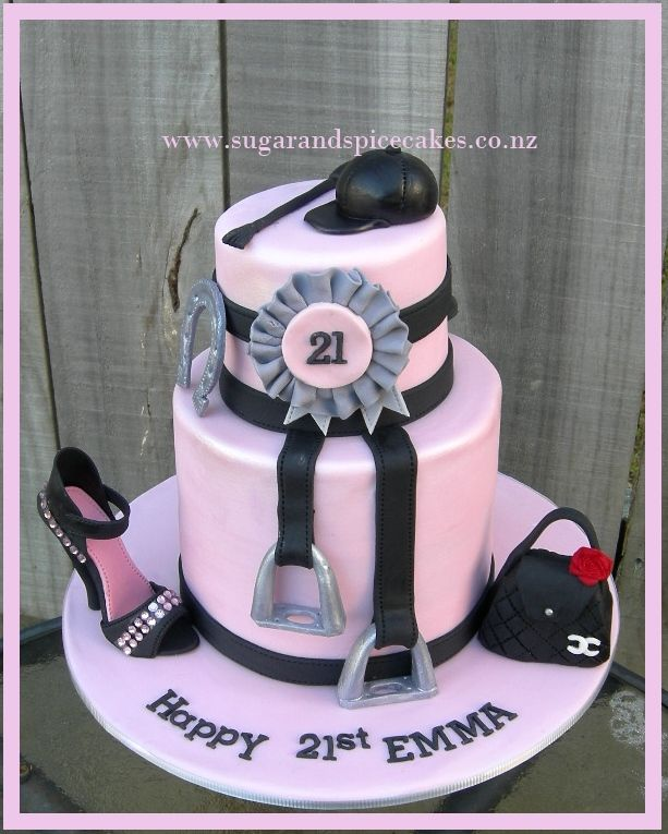 Horse Theme Cake Http Www Sugarandspicecakes Co Nz