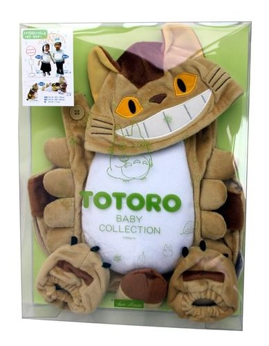 My Neighbor Totoro Studio Ghibli Cat Bus Baby Collection KIGURUMI Set Cosplay | eBay