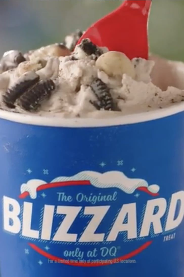 Dairy queens oreo cookie jar blizzard is basically a