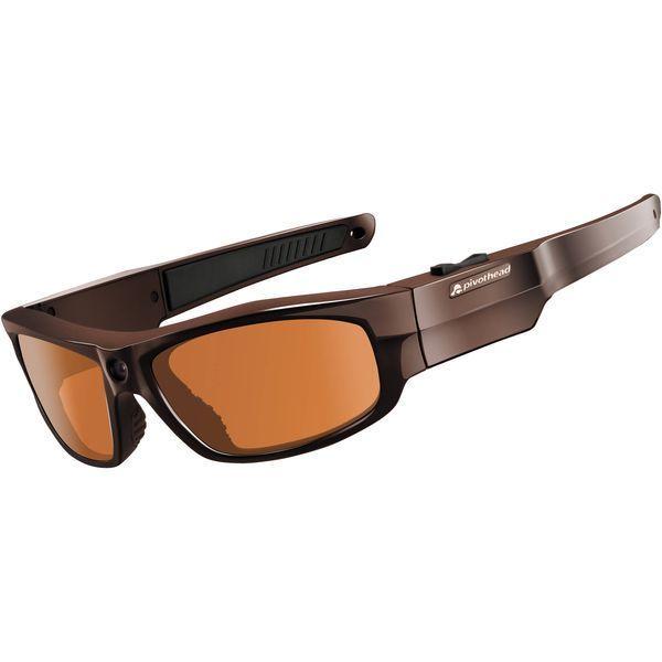 Модель оснащена классической коричневой оправой с коричневыми линзами. С этими очками — Вам ничего не страшно, ведь у Вас отличная поляризационная защита, плюс возможность снимать все детали в отменном Full HD качестве.
