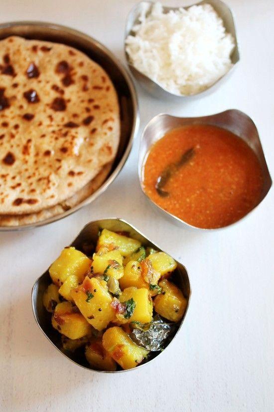 Batatyachi bhaji recipe | Maharashtrian batata bhaji recipe
