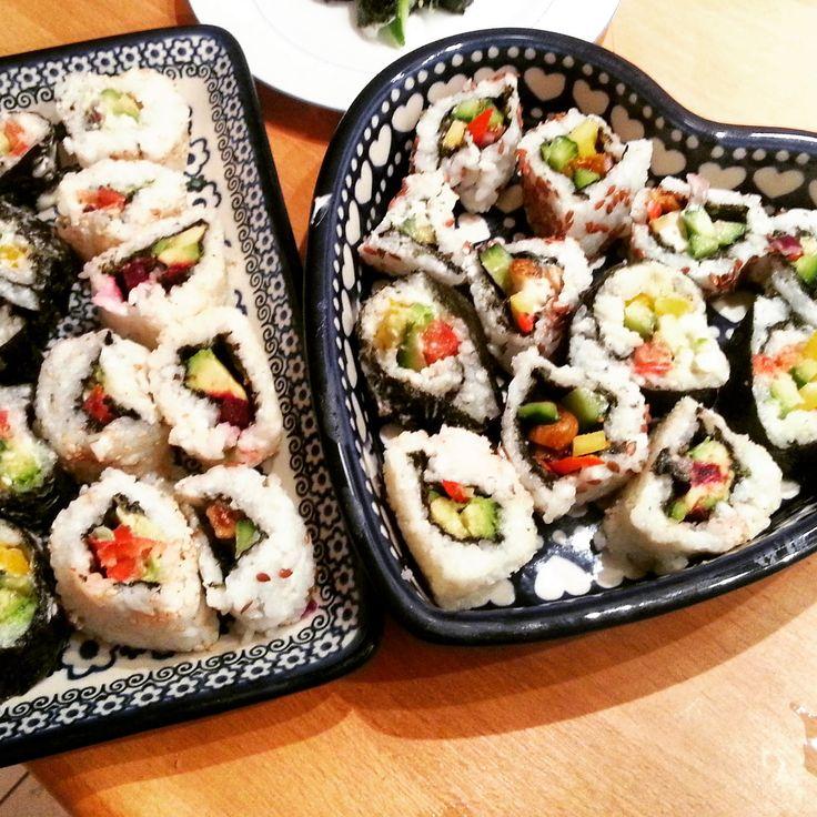 Plantaardig zonder banaan: Sushi! Zonder zeebeesten.