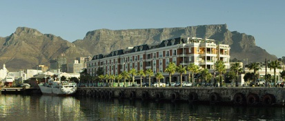 A Cape Town icon; the ultra luxurious Cape Grace in Cape Town.