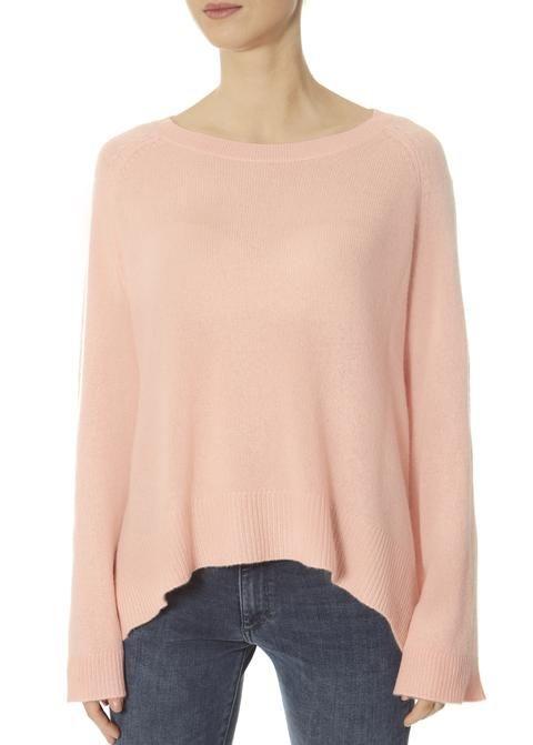 7fdb077d3eb Dara' Nectar Peach Asymmetric Sweater   360 Cashmere Clothing Brand ...