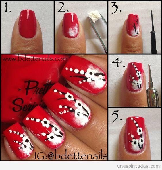Mejores 16 imágenes de uñes en Pinterest | La uña, Uñas bonitas y ...