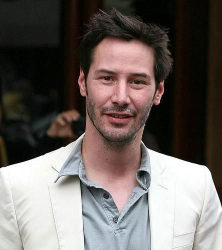 """Do I know that my hair is sticking up like a wet cat caught in a windstorm? Yep. Do I care? Not even a little bit."" (chicfoo) keanu"