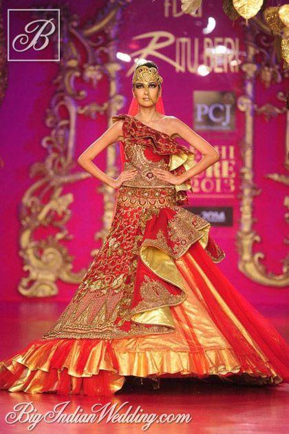 Ritu Beri bridal lehenga collection