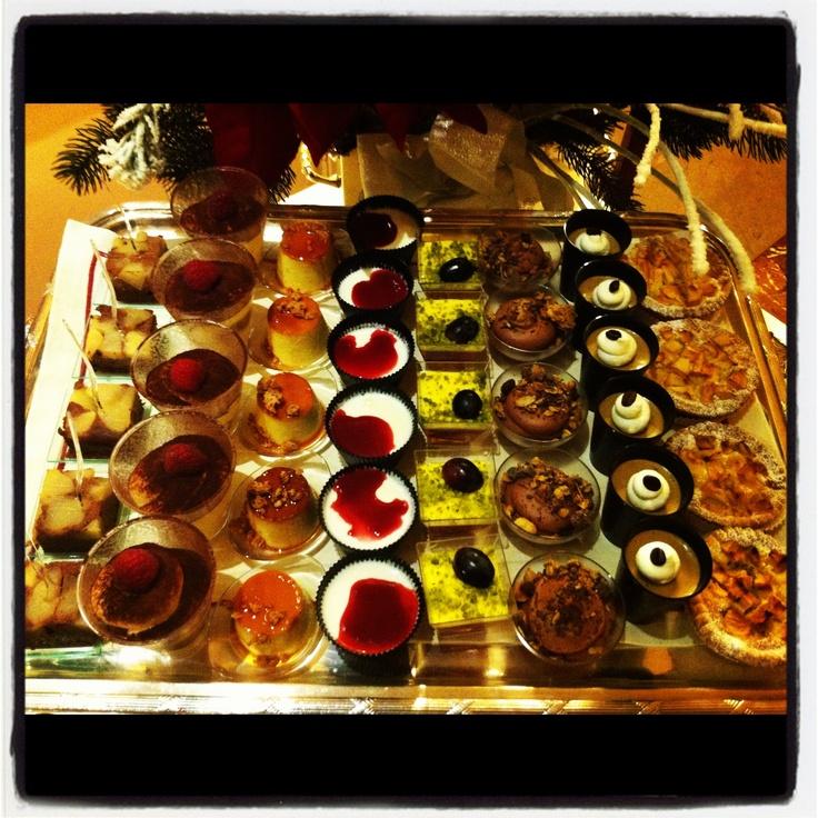 """Dessert """"finger food"""" - Chef Ruggero Rolando -Grand Hotel Sitea - Turin #ilMioPiemontePreferito"""