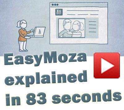 Photo mosaic tool EasyMoza explained in 83 seconds