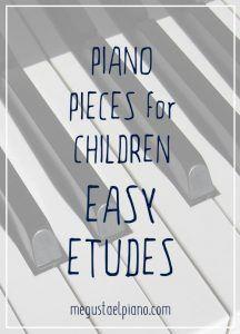 pieano exercises for children