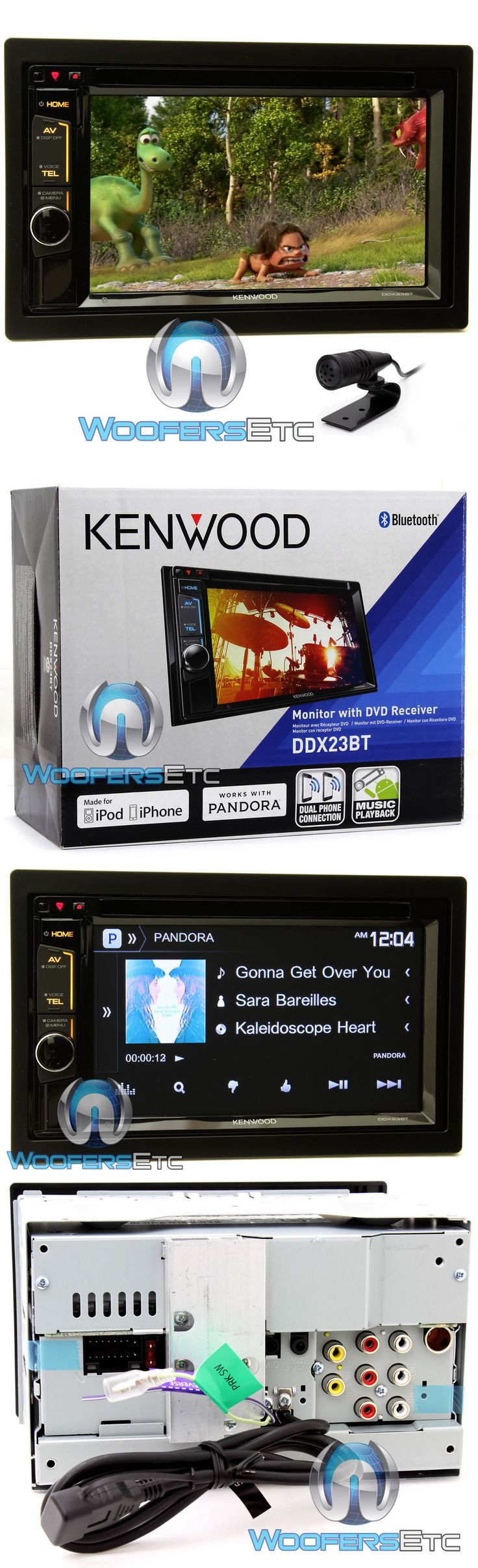 best ideas about kenwood car audio car sound car audio in dash units kenwood ddx23bt 6 2 tv cd dvd usb bluetooth touchscreen